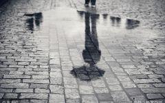 阴雨伤感图片