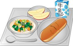 午餐动漫图片
