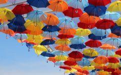 雨伞图片唯美