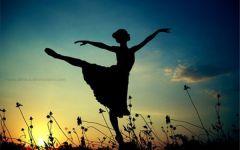 跳舞图片唯美