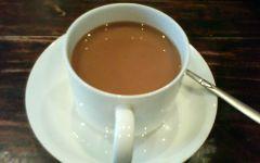喝咖啡唯美图片