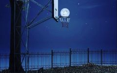 唯美篮球场图片
