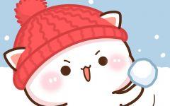 蜜桃猫情侣壁纸