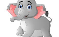 可爱大象图片