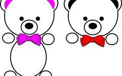 可爱高清图熊
