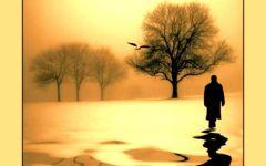 孤独沉思伤感图片