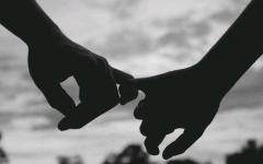 情侣两只手图片