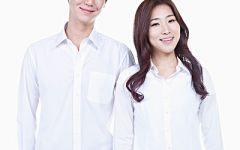 白衬衫情侣图片