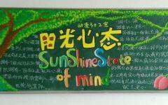 阳光黑板报