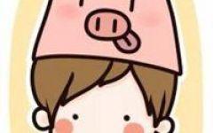 卡通骑猪情侣头像