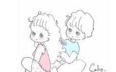 简笔画可爱小情侣