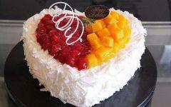 爱心蛋糕图片情侣
