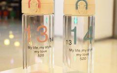 情侣玻璃杯子图片