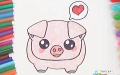 小猪的绘画