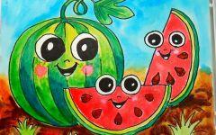 儿童画夏季