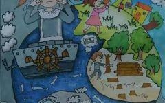 地球日儿童创意画