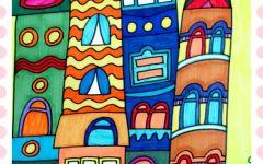 幼儿园美术情景画