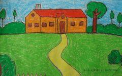 小学一年级美术画