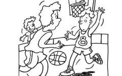 简笔画打篮球