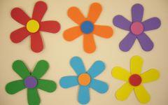 简笔画六瓣花