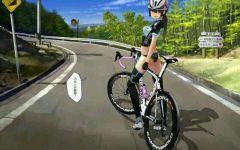 自行车图片动漫