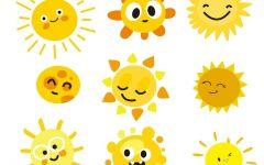 太阳光图片动漫