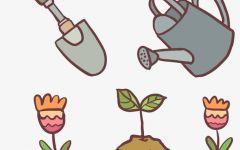 卡通植物图