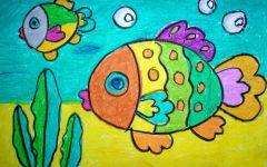 鱼卡通画图片