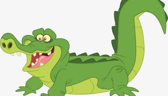 鳄鱼卡通图片