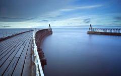 码头唯美图片