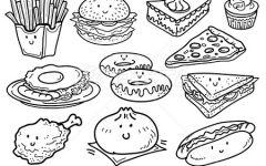 fastfood简笔画