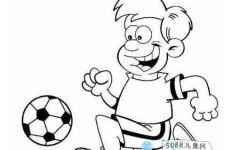 儿童简画球类