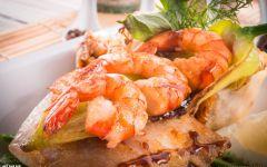 画虾美食图片