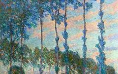 莫奈的湖油画