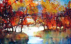 美丽的风景画