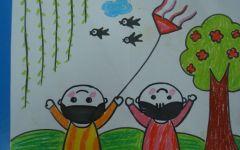 儿童图画春天