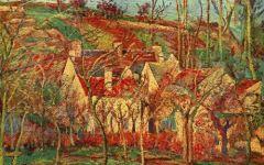 毕沙罗风景画