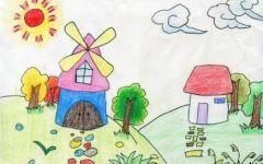 幼儿绘画春天