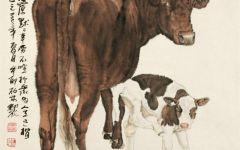糖画牛的图片