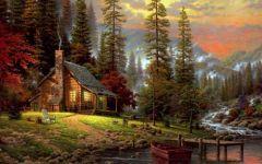 唯美油画风景