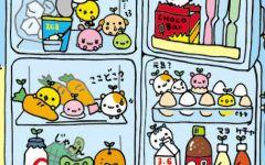 儿童画的冰箱