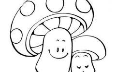 大蘑菇简笔画