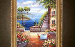 餐厅欧式油画