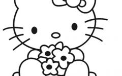 简笔画猫简单