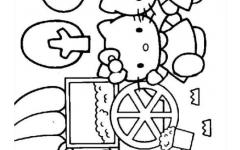 幼儿图画涂色
