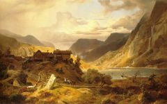 德国风景油画