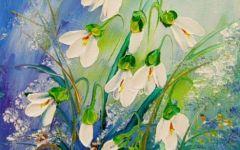 著名花卉油画