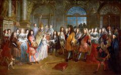 欧洲宫廷油画