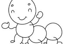 儿童简单绘画