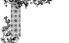 黑板报圆形花边